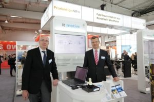 Stand HMI it-motive BCS GmbH und it-motive AG